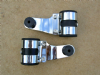 Headlamp Brackets, Chrome, Pair, Cafe Racers & Specials